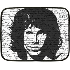Morrison Double Sided Fleece Blanket (mini)  by Valentinaart