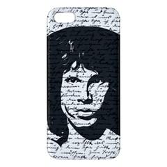 Morrison Apple Iphone 5 Premium Hardshell Case by Valentinaart