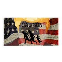 Caution Satin Wrap by Valentinaart