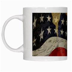 American President White Mugs by Valentinaart