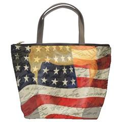American President Bucket Bags by Valentinaart