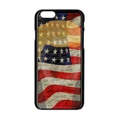 American President Apple Iphone 6/6s Black Enamel Case by Valentinaart