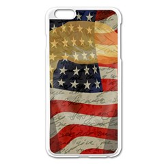 American President Apple Iphone 6 Plus/6s Plus Enamel White Case by Valentinaart