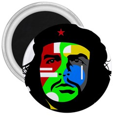 Che Guevara 3  Magnets by Valentinaart