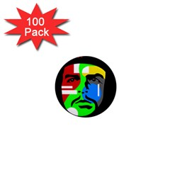 Che Guevara 1  Mini Magnets (100 Pack)  by Valentinaart