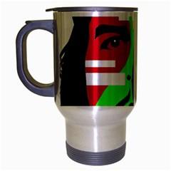 Che Guevara Travel Mug (silver Gray) by Valentinaart