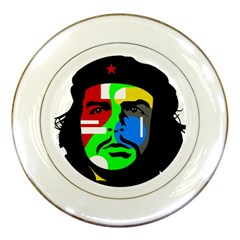 Che Guevara Porcelain Plates by Valentinaart