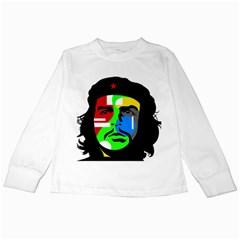 Che Guevara Kids Long Sleeve T Shirts by Valentinaart