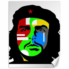 Che Guevara Canvas 12  X 16   by Valentinaart
