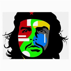 Che Guevara Large Glasses Cloth (2 Side) by Valentinaart