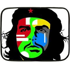 Che Guevara Fleece Blanket (mini) by Valentinaart