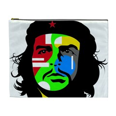 Che Guevara Cosmetic Bag (xl) by Valentinaart