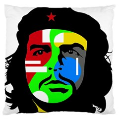 Che Guevara Standard Flano Cushion Case (one Side) by Valentinaart