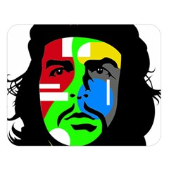 Che Guevara Double Sided Flano Blanket (large)  by Valentinaart