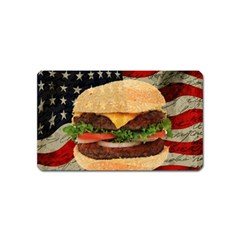Hamburger Magnet (name Card) by Valentinaart
