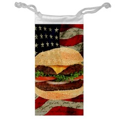 Hamburger Jewelry Bag by Valentinaart