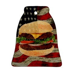 Hamburger Ornament (bell) by Valentinaart
