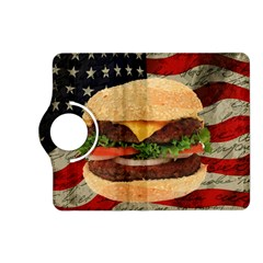Hamburger Kindle Fire Hd (2013) Flip 360 Case by Valentinaart