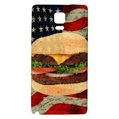 Hamburger Galaxy Note 4 Back Case by Valentinaart