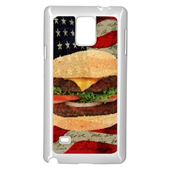 Hamburger Samsung Galaxy Note 4 Case (white) by Valentinaart