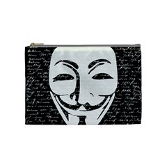 Antonymous   Cosmetic Bag (medium)  by Valentinaart
