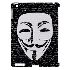 Antonymous   Apple Ipad 3/4 Hardshell Case (compatible With Smart Cover) by Valentinaart