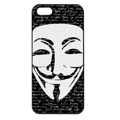 Antonymous   Apple Iphone 5 Seamless Case (black) by Valentinaart