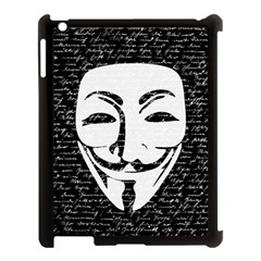 Antonymous   Apple Ipad 3/4 Case (black) by Valentinaart