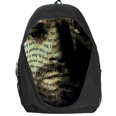 Kurt Cobain Backpack Bag by Valentinaart