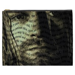 Kurt Cobain Cosmetic Bag (xxxl)  by Valentinaart