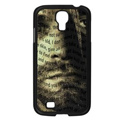 Kurt Cobain Samsung Galaxy S4 I9500/ I9505 Case (black) by Valentinaart