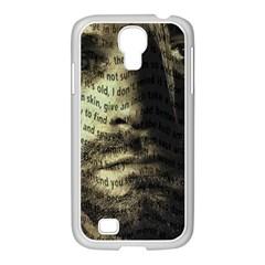 Kurt Cobain Samsung Galaxy S4 I9500/ I9505 Case (white) by Valentinaart