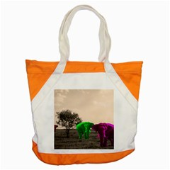 Africa  Accent Tote Bag by Valentinaart