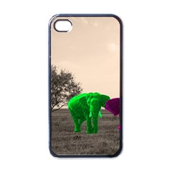 Africa  Apple Iphone 4 Case (black) by Valentinaart