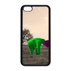 Africa  Apple Iphone 5c Seamless Case (black) by Valentinaart