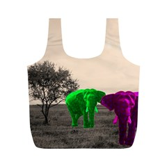 Africa  Full Print Recycle Bags (m)  by Valentinaart