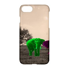 Africa  Apple Iphone 7 Hardshell Case by Valentinaart