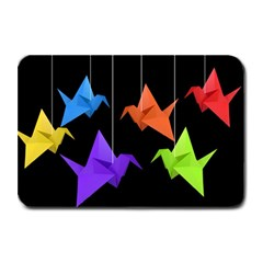Paper Cranes Plate Mats by Valentinaart