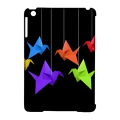 Paper Cranes Apple Ipad Mini Hardshell Case (compatible With Smart Cover) by Valentinaart
