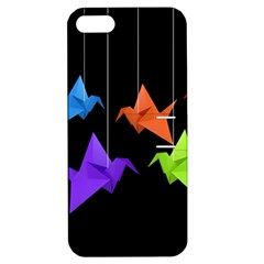 Paper Cranes Apple Iphone 5 Hardshell Case With Stand by Valentinaart