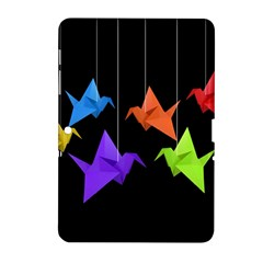 Paper Cranes Samsung Galaxy Tab 2 (10 1 ) P5100 Hardshell Case  by Valentinaart