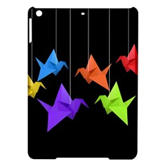 Paper Cranes Ipad Air Hardshell Cases by Valentinaart