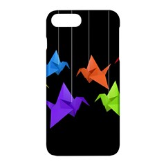 Paper Cranes Apple Iphone 7 Plus Hardshell Case by Valentinaart