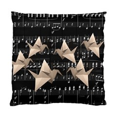 Paper Cranes Standard Cushion Case (one Side) by Valentinaart