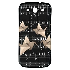 Paper Cranes Samsung Galaxy S3 S Iii Classic Hardshell Back Case by Valentinaart