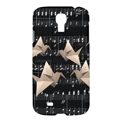 Paper Cranes Samsung Galaxy S4 I9500/i9505 Hardshell Case by Valentinaart