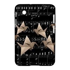 Paper Cranes Samsung Galaxy Tab 2 (7 ) P3100 Hardshell Case  by Valentinaart