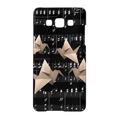 Paper Cranes Samsung Galaxy A5 Hardshell Case  by Valentinaart