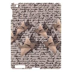 Paper Cranes Apple Ipad 3/4 Hardshell Case by Valentinaart