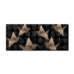 Paper Cranes Cosmetic Storage Cases by Valentinaart